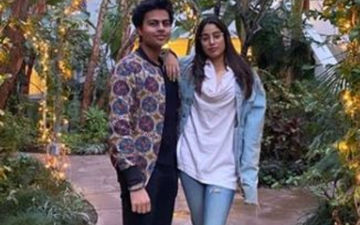 Janhvi Kapoor Poses With Rumoured Ex-Boyfriend Akshat Ranjan, Calls It 'Home'