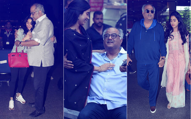 My Daddy, My Superhero: Janhvi's Undying Love For Boney Kapoor. Have You Seen These Pictures?