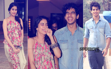 Janhvi Kapoor & Ishaan Khatter At Their Liveliest Best As They Promote Dhadak