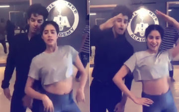 See Janhvi Kapoor's Dance With Ishaan Khatter And Bet You Will Hit The Floor!
