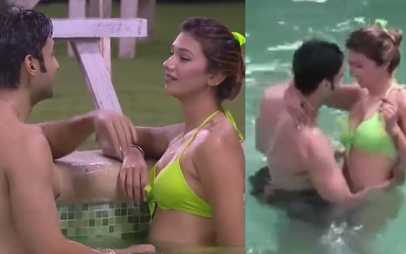 Bigg Boss 12: Jasleen Matharu And Rohit Suchanti's Steamy Romance Inside The Pool - Watch Videos