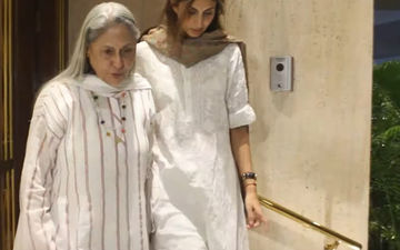 Jaya Bachchan Scolds Media For Clicking Pictures At Manish Malhotra's Residence Post His Father's Death