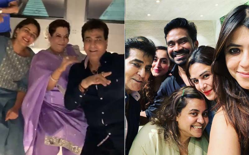 Ekta Kapoor Celebrates Papa Jeetendra's Birthday; Krystle D'souza, Mona Singh, Anita Hassanandani Attend The Bash - Watch Inside Videos