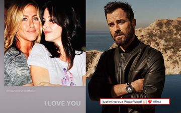 Jennifer Aniston Instagram Debut: Ex-Husband Justin Theroux Extends Warm Welcome; Rachel Green Says I LOVE YOU To Her FRIENDS Gang
