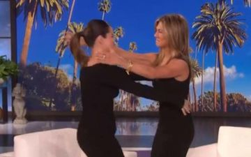 Jennifer Aniston Takes Over Ellen DeGeneres' Show To Interview Selena Gomez - WATCH