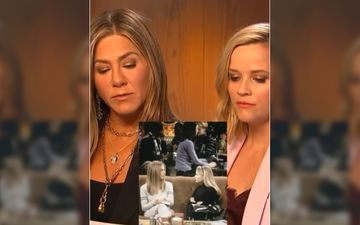 FRIENDS: Jennifer Aniston And Reese Witherspoon Recreate The Scene When They Fought Over Ross - Watch Video