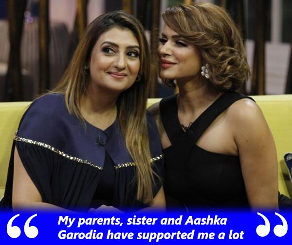 Juhi Parmar And Aashka Garodia