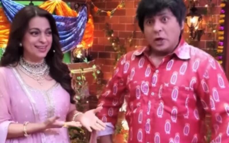The Kapil Sharma Show: Juhi Chawla 'Spills A Secret' Shah Rukh Khan Was Not The First Choice For Darr-Watch Hilarious BTS Video
