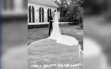 Justin Bieber Hailey Baldwin Wedding: Baldwin's White Gown Had 'Till Death Do Us Apart' Written On It - Watch Video
