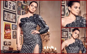 FASHION CULPRIT OF THE DAY: Too Many THORNS In Kangana Ranaut's Metallic Rose Garden!