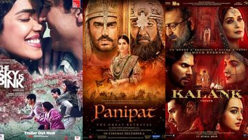 Flop Movies Of 2019: The Sky Is Pink, Panipat, Kalank And Other Anticipated Films That Didn't Fare Well