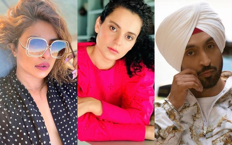 Kangana Ranaut ACCUSES Priyanka Chopra And Diljit Dosanjh Of 'Disappearing' After Provoking The Farmers; Says, 'Dekho Kisaano Aur Desh Ki Yeh Halat Hai'