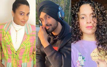 Swara Bhasker-Kubbra Sait Root For Diljit Dosanjh As He Shuts Kangana Ranaut In A Nasty Twitter Fight; Former Calls Him A 'STAR'