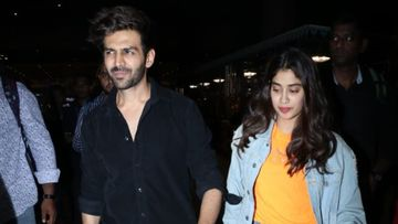 Janhvi Kapoor Birthday: Kartik Aaryan Wishes His Dostana 2 Co-Star But With A Twist Of Coronavirus – PIC