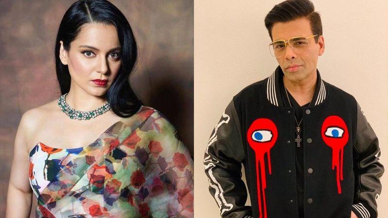 Karan Johar Trends Post Kangana Ranaut's SHOCKING Revelations; Fans Troll Filmmaker For An Old VIDEO Where He Had Said, 'She Should Leave Bollywood'