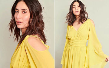 Kareena Kapoor Khan Exudes Warm Summer Vibes In This Flowy Thigh-High Yellow Gown This Winter