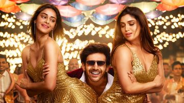 Pati Patni Aur Woh Song Ankhiyon Se Goli Mare: Kartik Aaryan-Bhumi-Ananya Panday Rock The Recreated Version