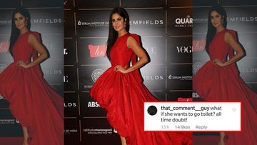 Vogue Woman Of The Year 2019: Katrina Kaif Slays In A Bouncy Gown; Concerned Fan Wonders How She Will Take A Pee Break