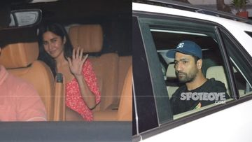 Rumoured Couple Katrina Kaif And Vicky Kaushal Fuel Dating Rumours With Last Night's Meeting; What's Cooking? – PICS