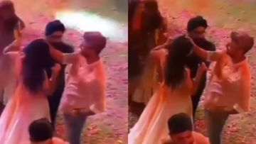 Isha Ambani Holi Party: Vicky Kaushal Lovingly Touches Katrina Kaif's Forehead; Make It Official We Say