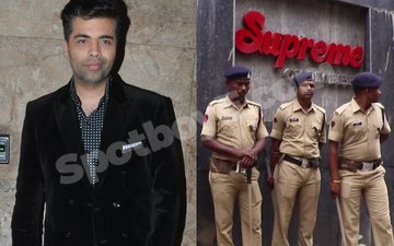 100 MNS Workers Get Arrested Outside Karan Johar's Office