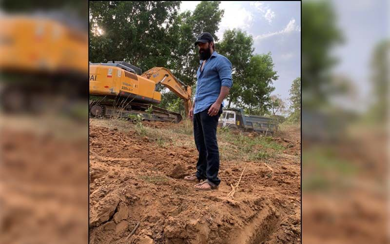 KGF Star Yash Spends Time Restoring His Land Near His Farmhouse In Hassan; Actor Leaves Fans Impressed