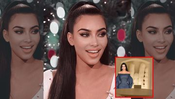 Kim Kardashian Defends Her Controversial 'Tampon' Christmas Decor, Says Her Babies Are Gonna Rip It Apart