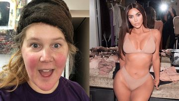 Amy Schumer TROLLS Kim Kardashian's SKIMS Shapewear line By Sporting A Similar Look; Kim Reacts