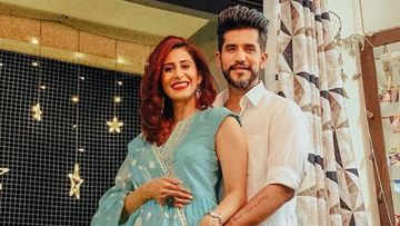 Coronavirus Lockdown: Kishwer Merchant Surprises Hubby Suyyash Rai On His B-Day With A Special Kada Prasad Cake – VIDEO