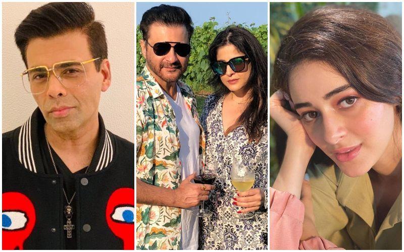 Sanjay Kapoor Takes A Friendly Dig At KJo While Discussing Nepotism; Makes Fun Of Ananya Panday As Wife Maheep Kapoor Shares Her Struggle Story
