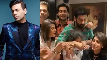 Karan Johar Parties With Ranbir Kapoor At Neetu Kapoor's B'Day Bash In The Midst Of Nepotism Backlash; Gets Severely TROLLED