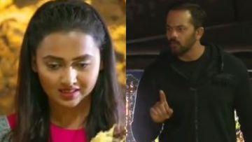Khatron Ke Khiladi 10: Rohit Shetty Again BLASTS Tejasswi Prakash, 'You Are Not Directing The Show, Be In Your Limits'
