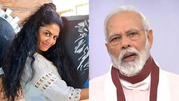 Kavita Kaushik Invents A Yoga Pose Inspired By PM Narendra Modi's 'Atma Nirbhar' Speech; Fans Call Her 'Spider Woman'