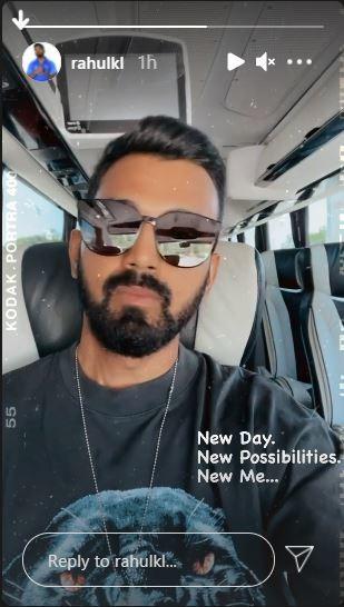 KL Rahul s Instagram stories