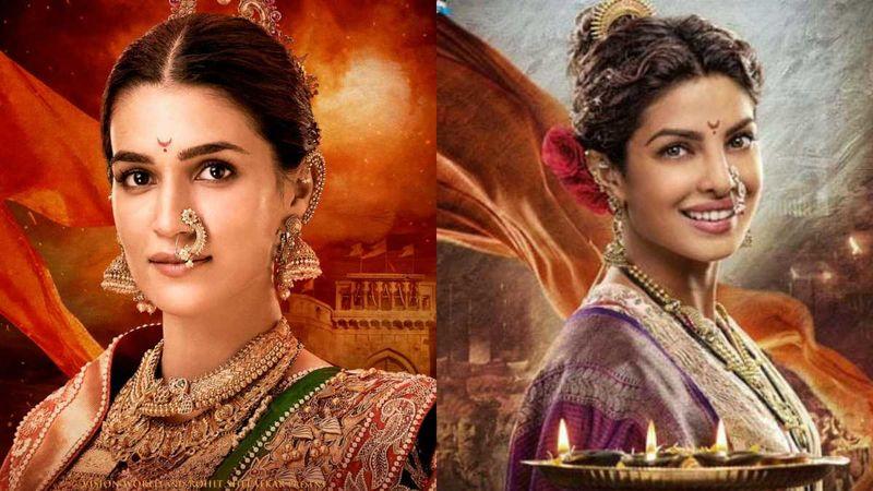 Panipat: Kriti Sanon's First Look As Parvati Bai Inspired By Priyanka Chopra's Kashibai From Bajirao Mastani?