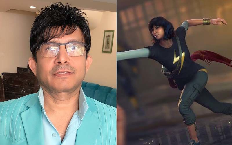 Kamaal R Khan Threatens To Sue Marvel For Using His Name For Their Character Kamala Khan Without His Permission; Netizens Troll KRK