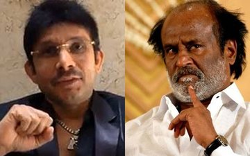 KRK Calls Superstar Rajinikanth 'Tiny' And 'Worst Looking'