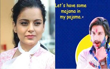 Kangana Ranaut Reacts To Controversial Tweets On Navratri Featuring Katrina Kaif, Ranveer Singh: 'Nothing But Porn Hub, SHAME'