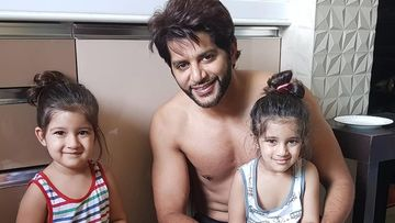 Karanvir Bohra's Twin Daughters Bella-Vienna Slay The Candy Challenge; We Can't Stop Gushing Over Their Cuteness – VIDEO