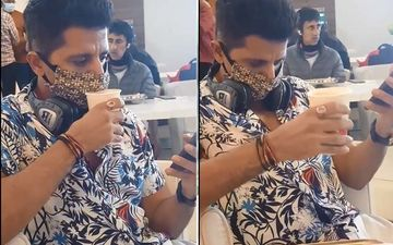 Karanvir Bohra Sips On His Coffee Without Realizing He's Wearing A Facemask; Posts HILARIOUS Video And Asks 'Has This Ever Happened To You?'