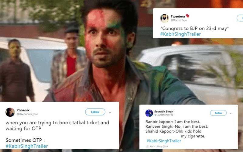 "Kabir Singh Trailer: Shahid Kapoor's ""Nahi Aaunga Matlab Nahi Aaunga"" Dialogue Starts A Meme Fest"