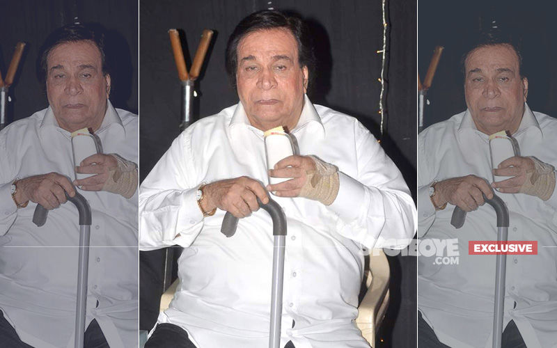 "Kader Khan Death Hoax: Actor's Son Sarfaraz Says, ""My Father Is Alive"""