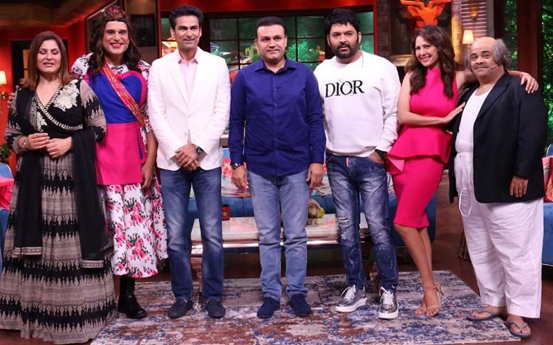 The Kapil Sharma Show: Former Cricketers Virender Sehwag And Mohammad Kaif Have A Blast On The Comedy Show