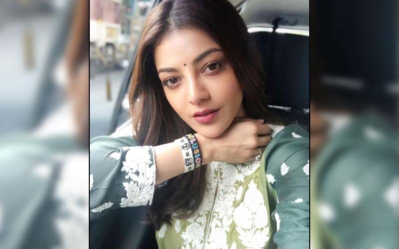 Kajal Aggarwal's Hubby Gautam Kitchlu Bribes Her With Chocolates; Actress' Huge Diamond-Studded Ring Grabs All The Attention - Check Out