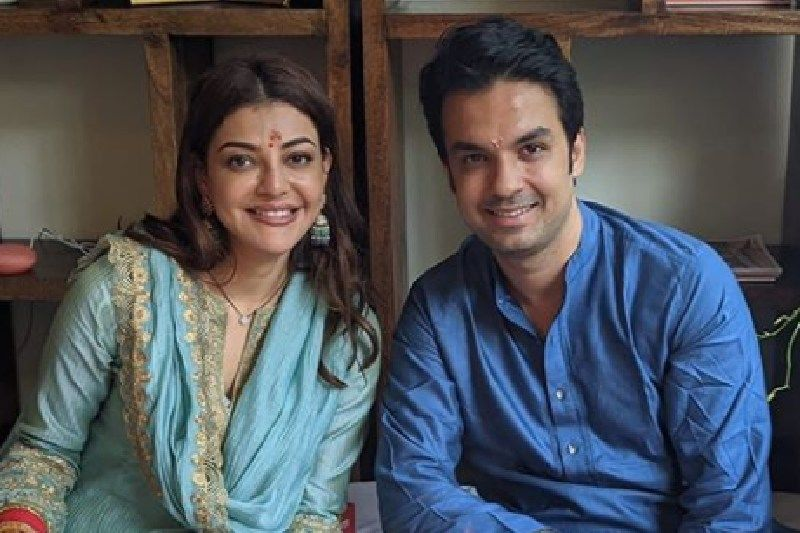 Kajal Aggarwal's Hubby Gautam Shares A Stunning Picture As The Couple Participates In Puja Ceremony At Their New Home - Congratulations To Mr And Mrs