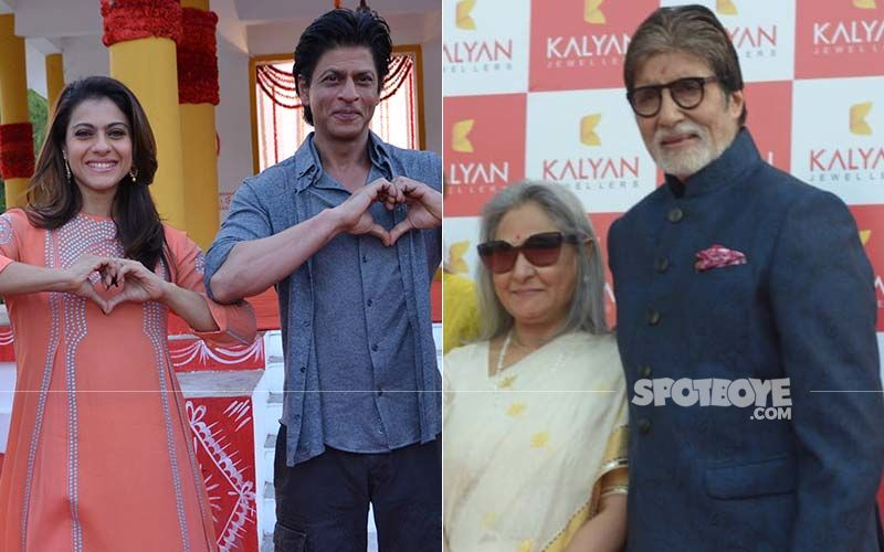 Valentine's Day Special: Shah Rukh Khan-Kajol, Amitabh Bachchan-Jaya Bachchan And More; 10 Most Romantic On-Screen Couples Of All Times
