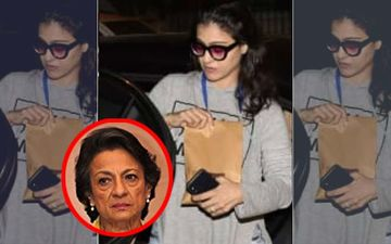 Tanuja Hospitalized Again; Kajol Visits Ailing Mother At Lilavati