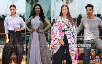 Kalank Promotions: Alia Bhatt Gives Her Ethnic Pieces A Miss, Varun Dhawan Sticks To Casuals