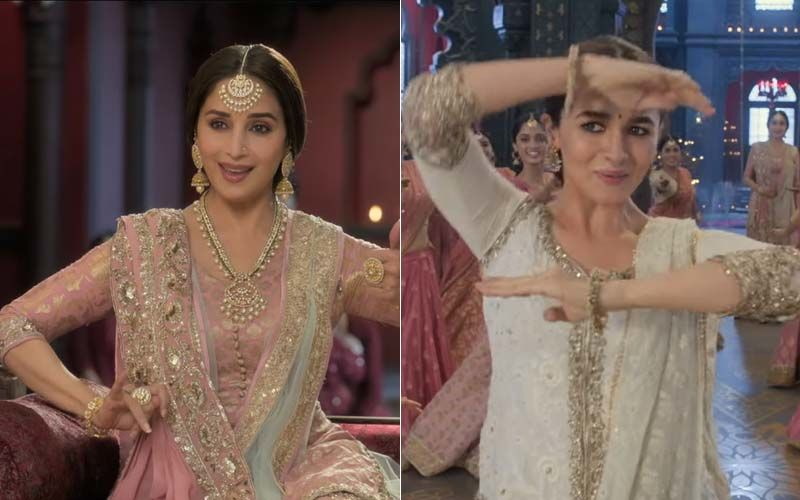 Kalank Song, Ghar More Pardesiya: Alia Bhatt's Graceful Dance And Madhuri Dixit's Charm Make This Track Visually Appealing