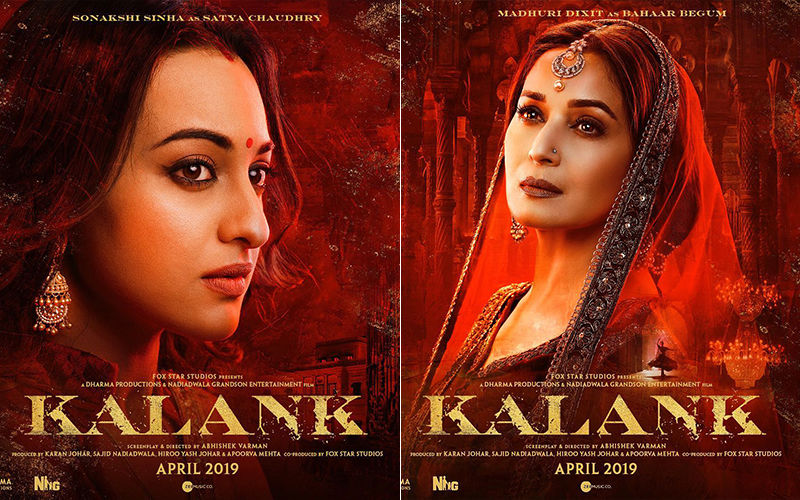 Women Of Kalank: If Alia Bhatt's Roop Enchanted You, Madhuri Dixit As Bahaar Begum And Sonakshi Sinha As Satya Will Mesmerise You With Their Beauty